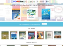 USED MBA books