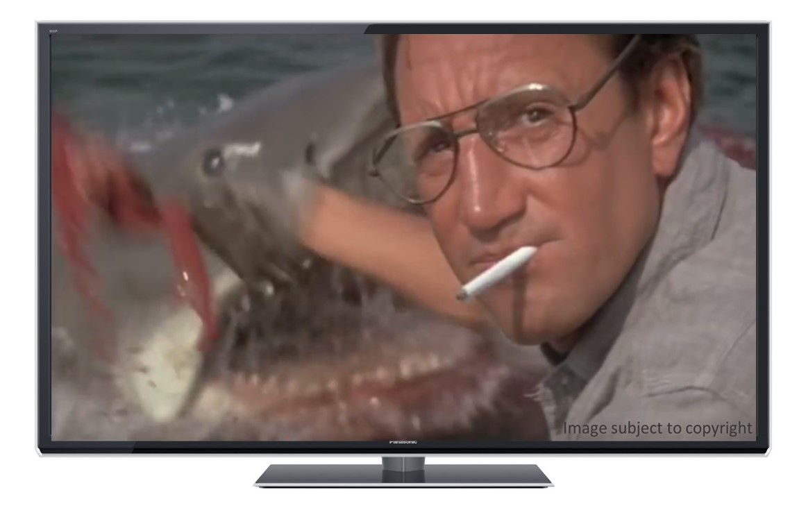"""You're going to need a bigger boat…"""